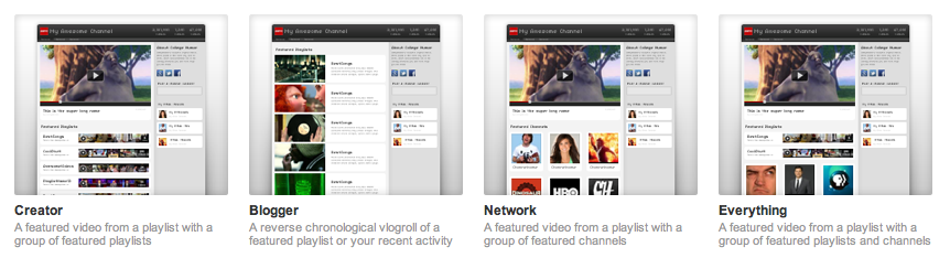 Official YouTube Blog: Welcome to your new YouTube channel