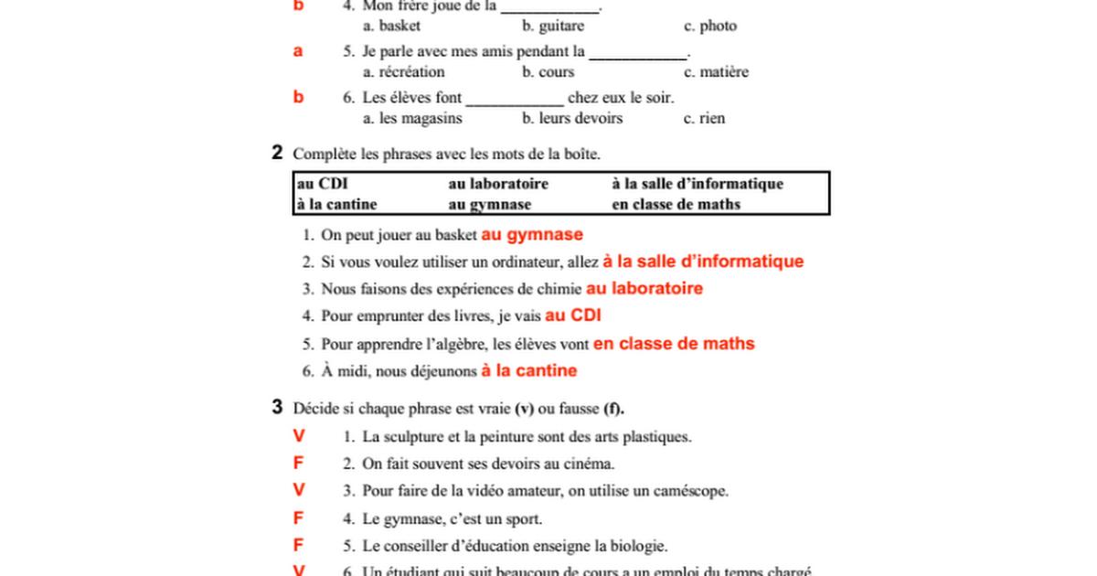 Holt French 2 Chapitre 5 Answers : Bajar Libros Gratis Pdf Sin