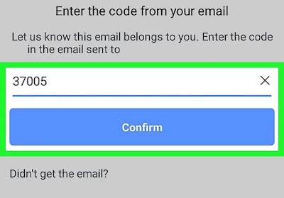 أدخل رمز التحقق لتسجيل الدخول إلى حسابك على Facebook