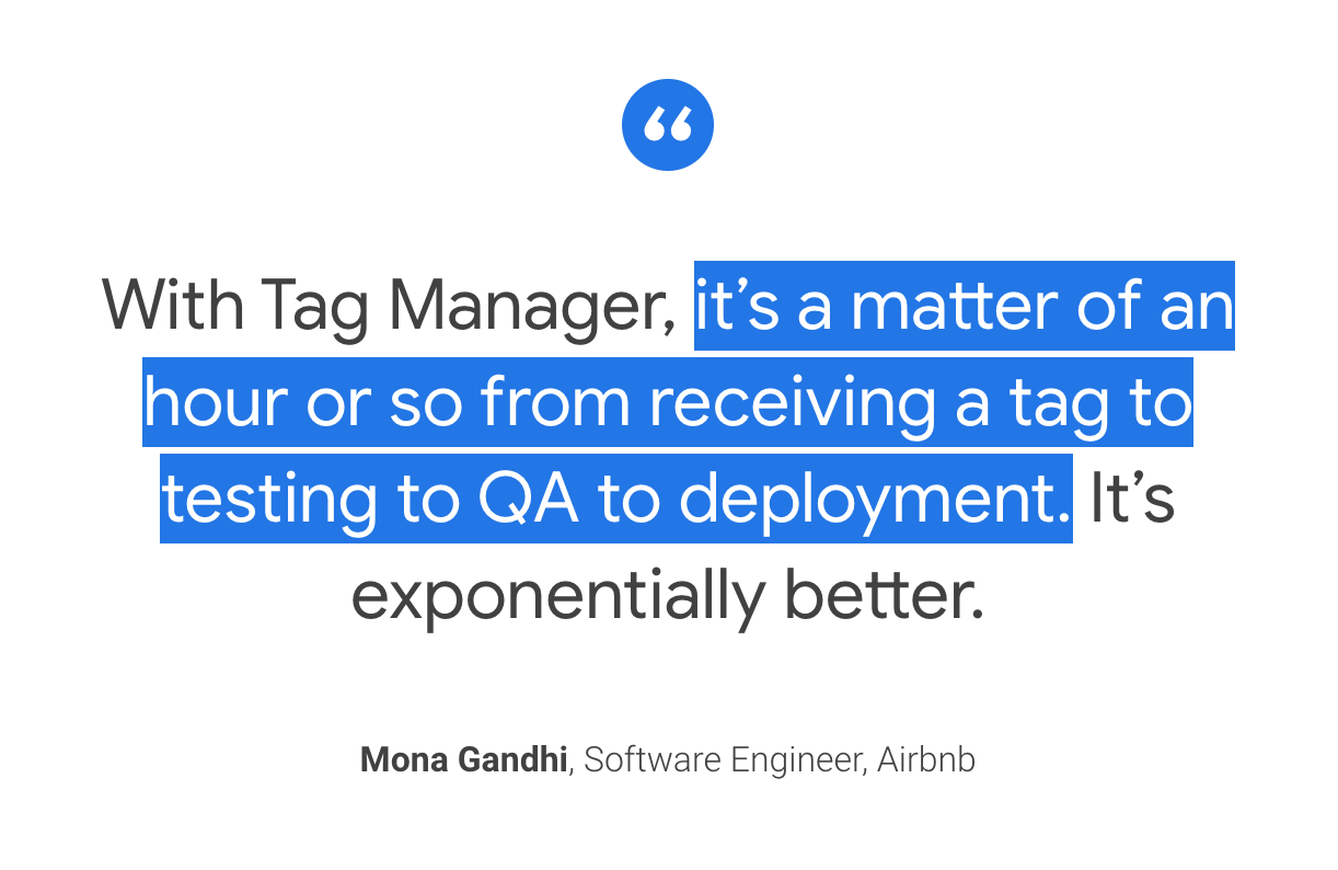 Google Tag Manager saas