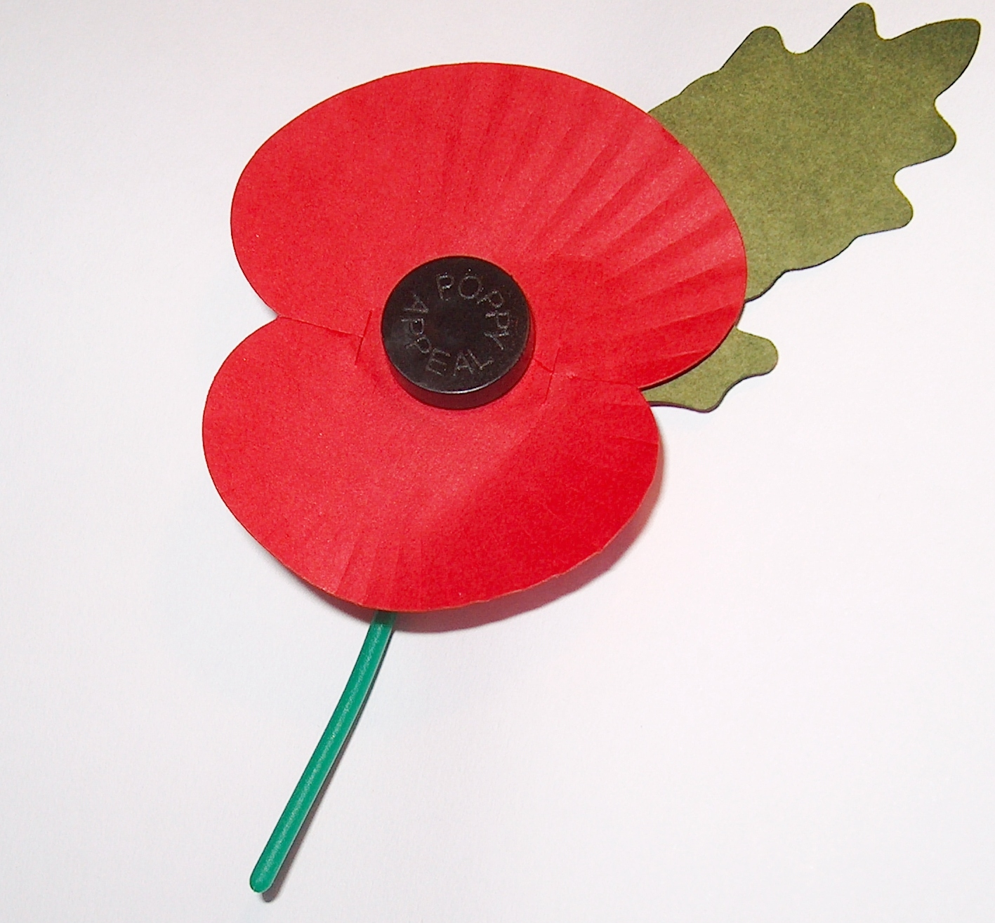 File:Royal British Legion's Paper Poppy - white background.jpg ...