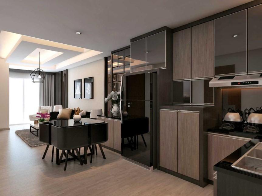 apartemen fully furnished