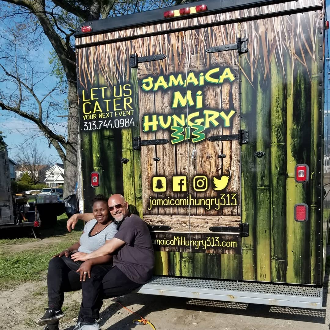 Jamaica Mi Hungry 313 food truck owners