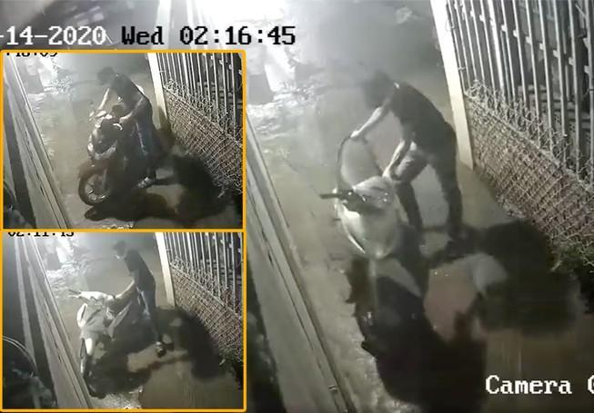 Thủ Đức: Trộm cắt cửa nhà trọ lấy 3 xe máy chỉ trong 30 phút