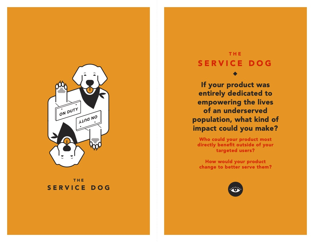 Service Dog Tarot Cards of Tech