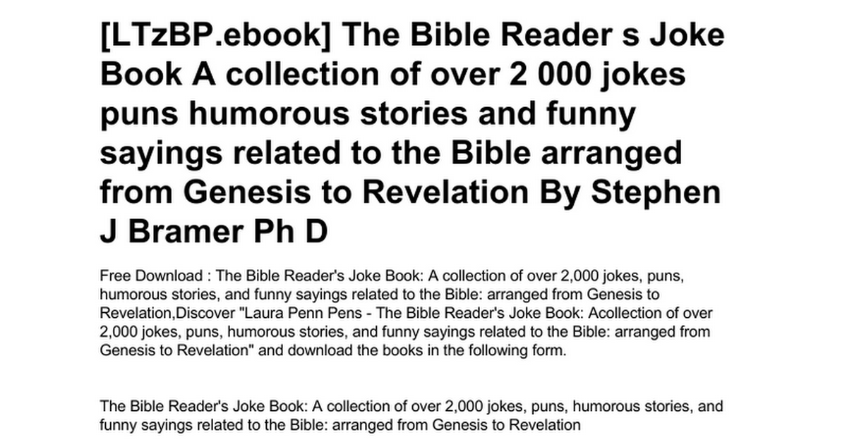 the-bible-reader-s-joke-book-a-collection-of-over-2-000-jokes-puns