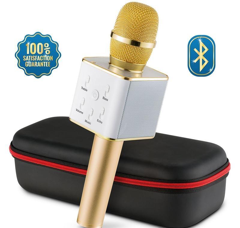 Microphone Bluetooth Professionel sans Fil Micro USB Karaoké Telephone Podcast Livestream KTV www.avalonkef.com 1.jpg