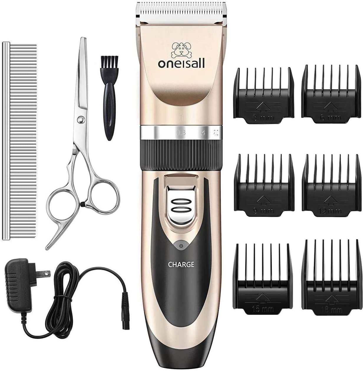 A highly reviewed grooming kit from Amazon is shown in this file photo from Amazon.