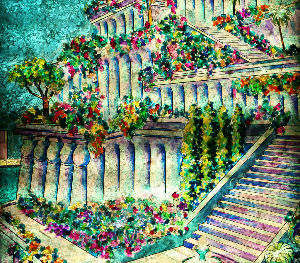 Student stories on the hanging gardens of babylon the hanging garden of babylon by marissa for When was the hanging gardens of babylon destroyed