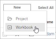 Create Workbook button