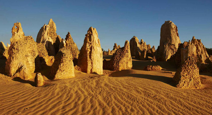 Pinnacles Desert View Trail - Nambung National Park, WA