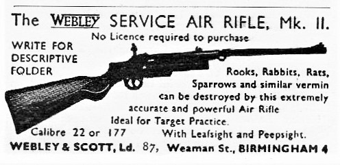 old advert showing an early service