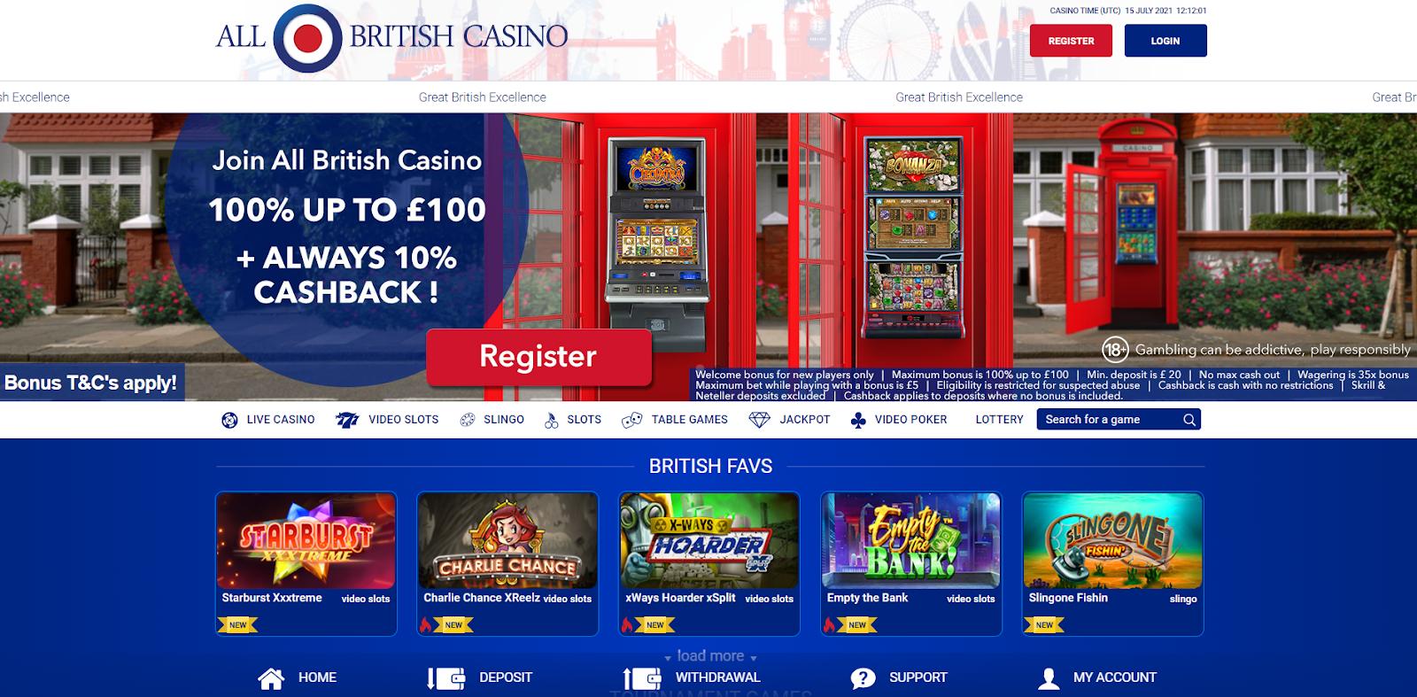 all british casino homepage