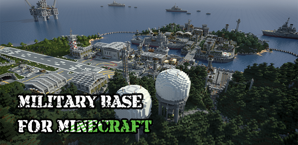 Army Base Map For Minecraft PE APK Download