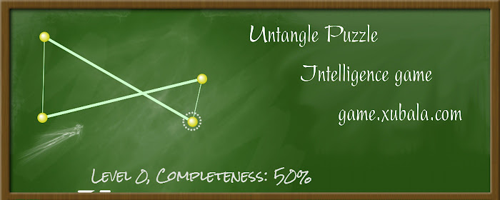 Untangle Puzzle game