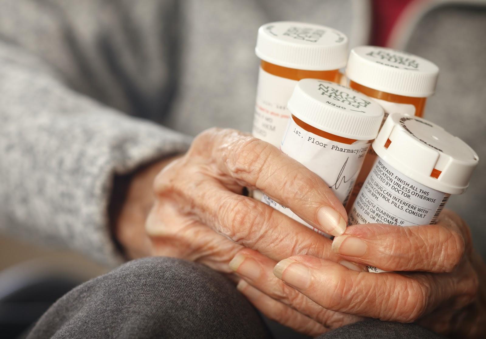 Medication side effects in Parkinsons Disease