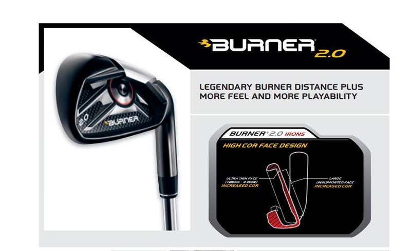 Burner 2.0 Irons của Taylormade