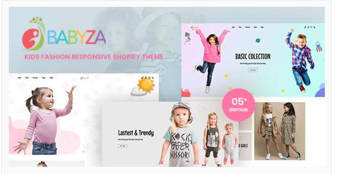 Babyza - Kids Shopify theme