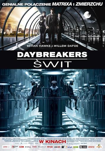 Polski plakat filmu 'Daybreakers - Świt'