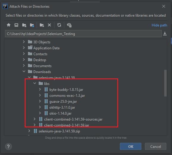 How to use IntelliJ IDE & Selenium Webdriver
