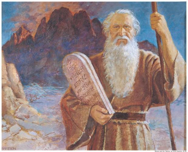moses mormonism