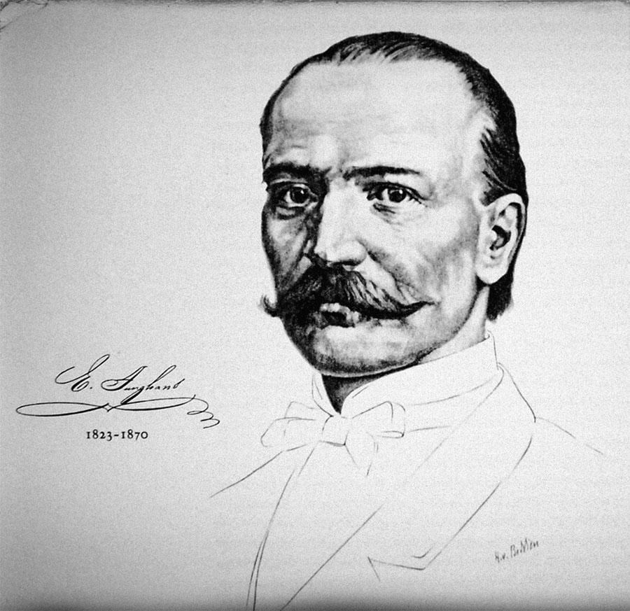 Firmengründer Erhard Junghans (1823-1870) | Watchtime.net