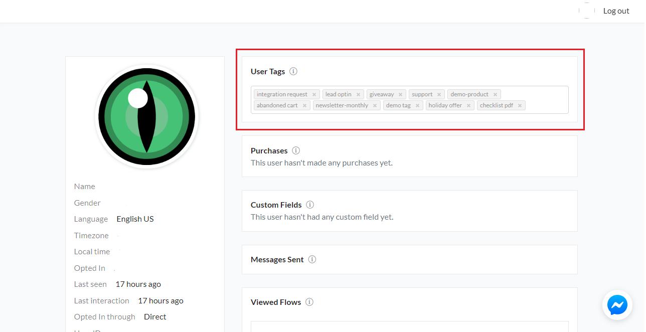 Add User Tags Individually - SilFer Bots
