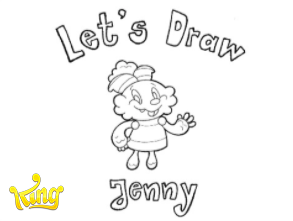 How to draw Jelly Jenny