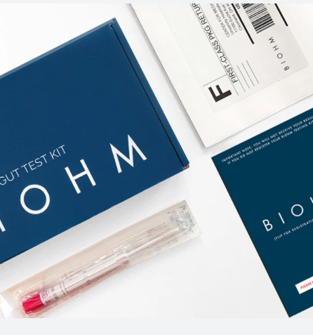 Biohm gut test package.