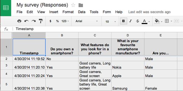 Bạn cũng có thể xem tất cả kết quả chi tiết trong bảng tính