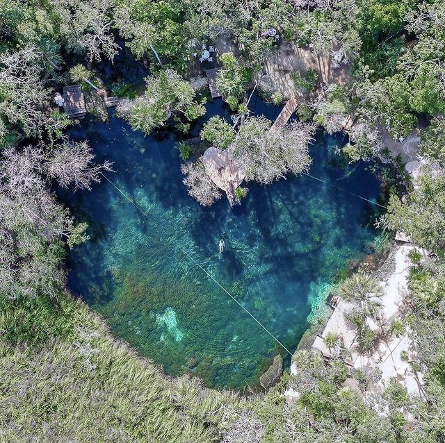 Cenote Corazón en Tulum