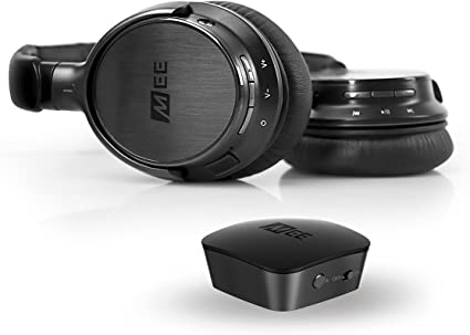 MEE audio Connect Bluetooth Wireless Headphone System for TV - Includes Bluetooth Wireless Audio Transmitter and Headphones - AF-T and AF52