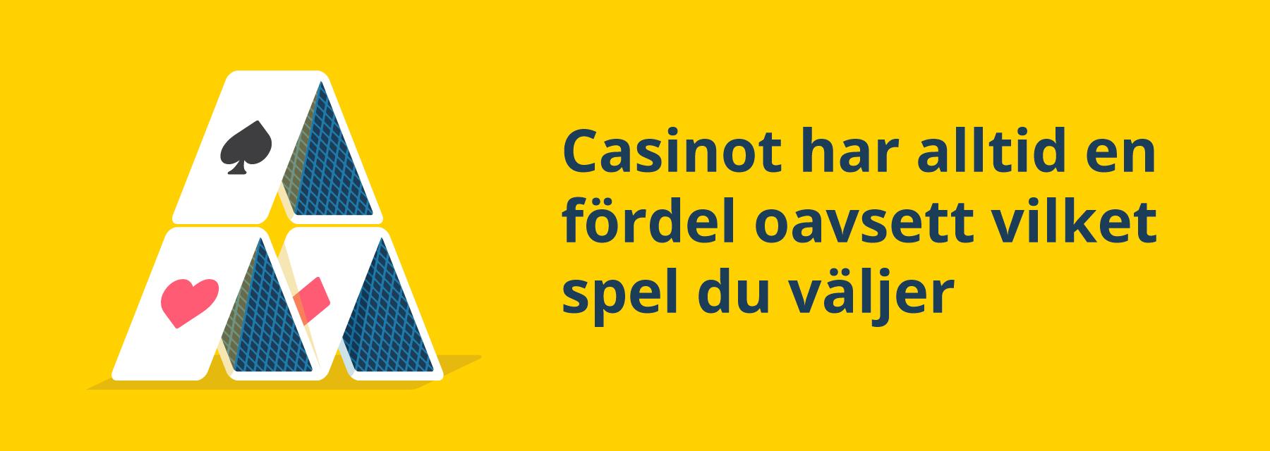 Casinots fördel