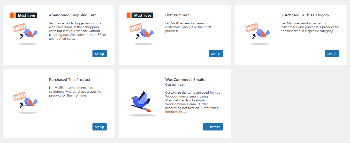 mailpoet email marketing features