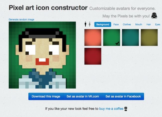Es un sitio interesante que te deja crear un avatar original y extraordinario.