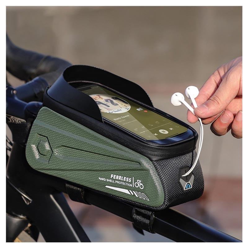 Capa de bicicleta para smartphones West Biking   capa-bicicleta-smartphones-impermeavel-west-biking-