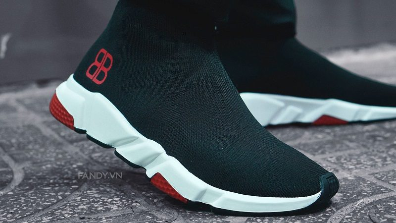 giay balenciaga speed trainer bb logo 2019
