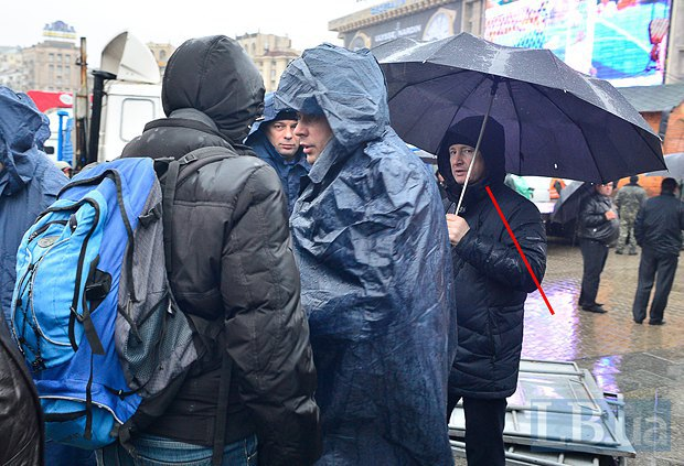 Григоренко на майдане 22.11.2013 г