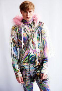 A picture containing clothing, person, young, colorful  Description automatically generated