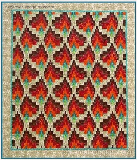 What Is Bargello Quilting? An Overview and Pretty Patterns : bargello quilt kits - Adamdwight.com