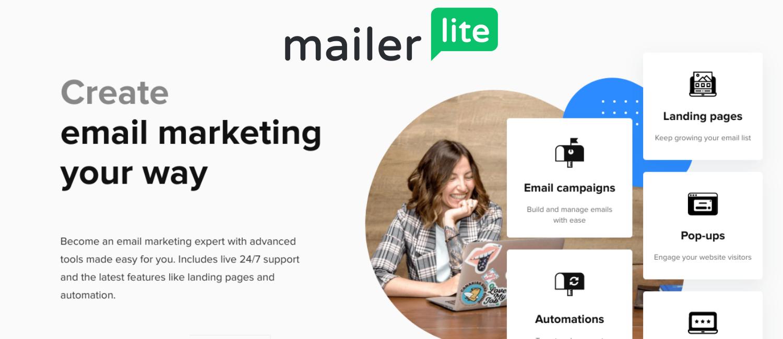 email marketing gratis mailerlite