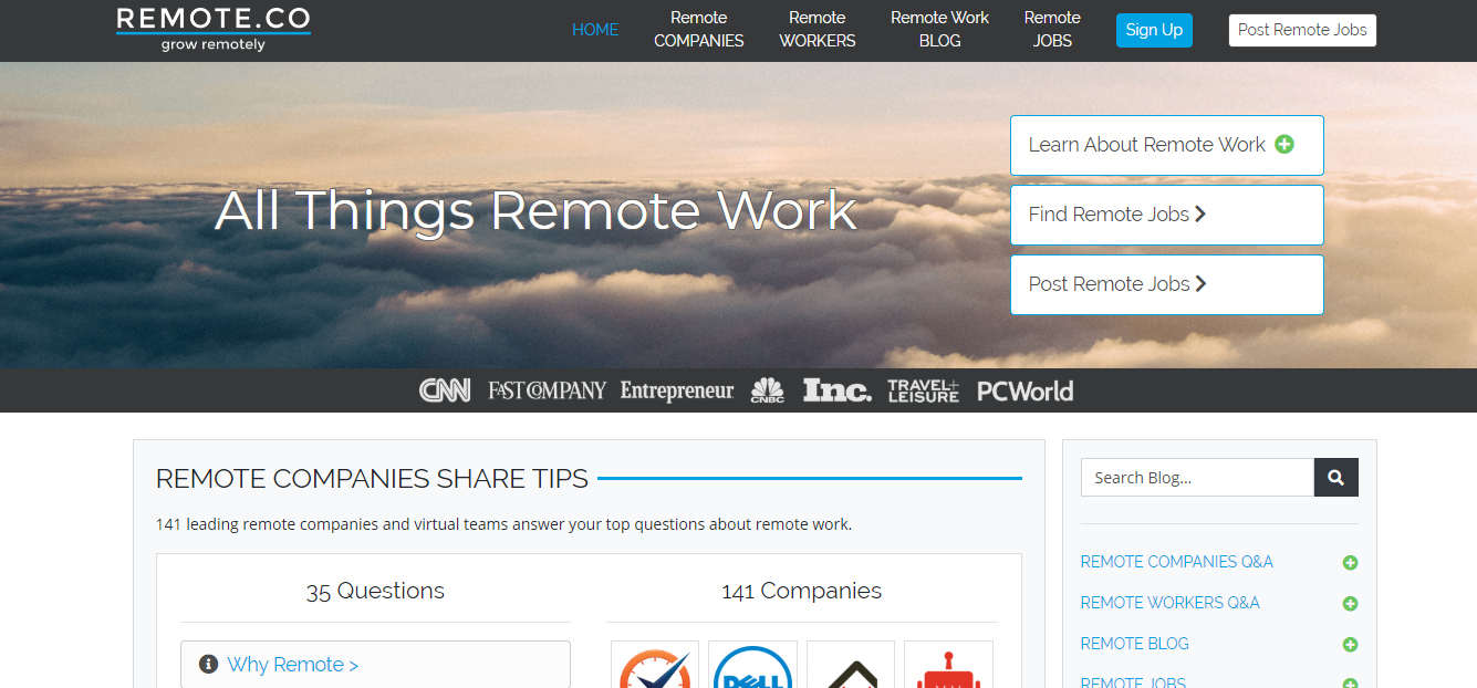 Remote.co - Remote Jobs Board