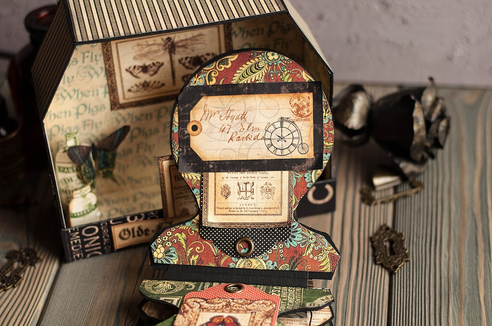 Olde Curiosity Shoppe-Album and Shoppe-tutorial by Lena Astafeva-products by Graphic 45-45.jpg