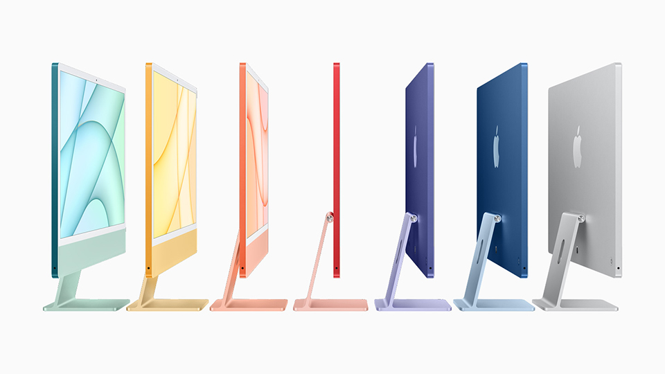 màu sắc iMac M1 2021 24 inch Retina 4.5K