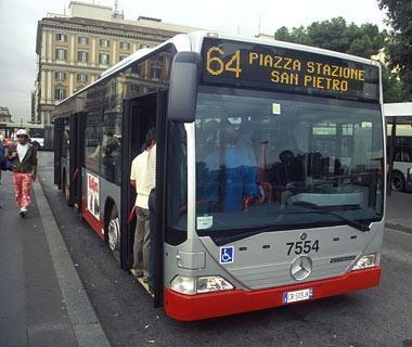 Картинки по запросу Atac bus 64 in Rome