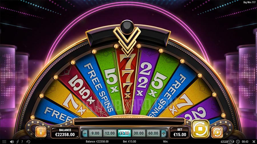 Play Big Win 777 Video Slot by Play'n Go for Real Money at Scatters Casino