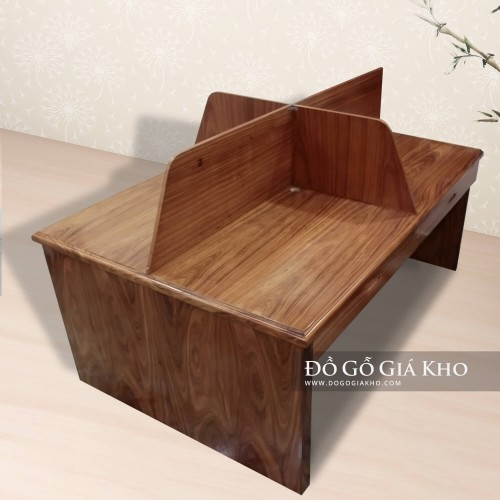Bàn văn phòng gỗ Hương xám - BLV007