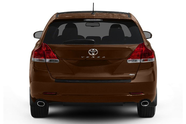rear-end-of-toyota-venza-2010