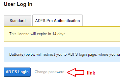 ADFS-Pro Authentication - User Guide