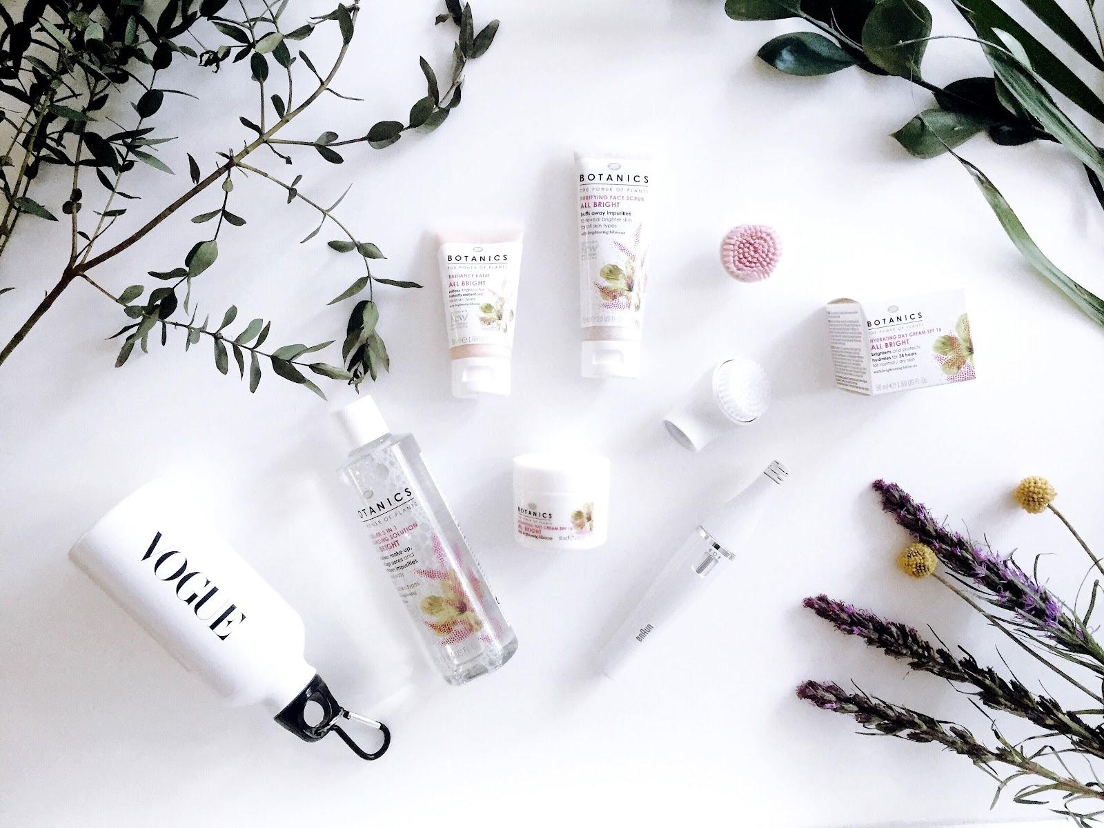 Boots Botanics - 4 beauty products for skin that glows Face scrub micellar daycream radiance balm